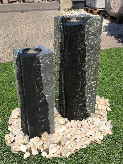 Granit-Stelenbrunnen Padang-DUO