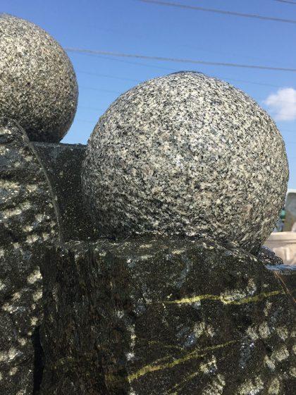 Granitbrunnen Sapporo, 120 cm