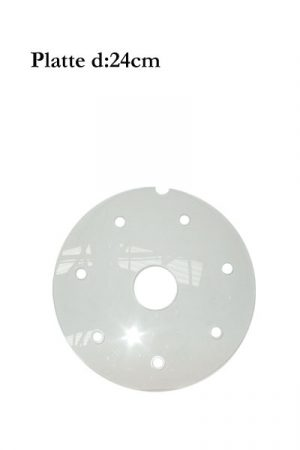 d: 24cm Plexiglas-Platte