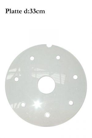d: 33cm Plexiglas-Platte