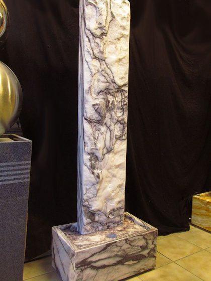 Marmor-Wasserwand 166 cm - Purple Wave