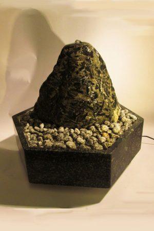 Quellsteinbrunnen-Diabaz-Natur, 43 cm