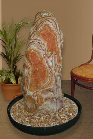 Regenbogen Sandstein Brunnen 105 cm