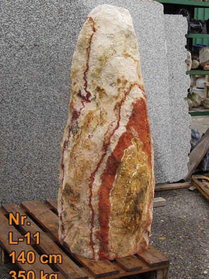 Regenbogen Sandstein Nr.L-11, 140 cm