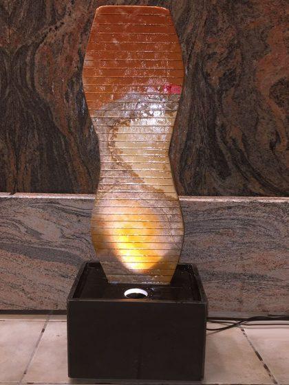 Sandstein-Wasserwand Athene 95 cm