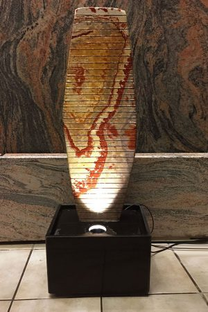 Sandstein-Wasserwand Iris, 95 cm
