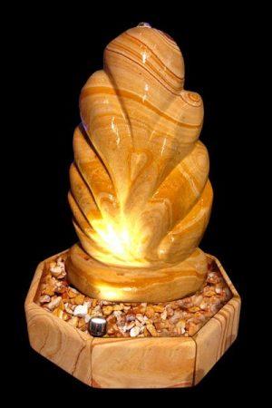 """Sandstein Skulpturbrunnen """"Lotus"""""""