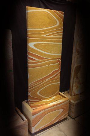 """Regenbogen Wasserwand """"Hemera"""" h:150cm"""