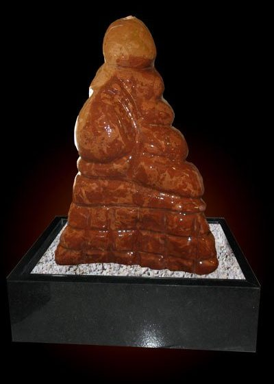 Marmor Skulptur Samurai