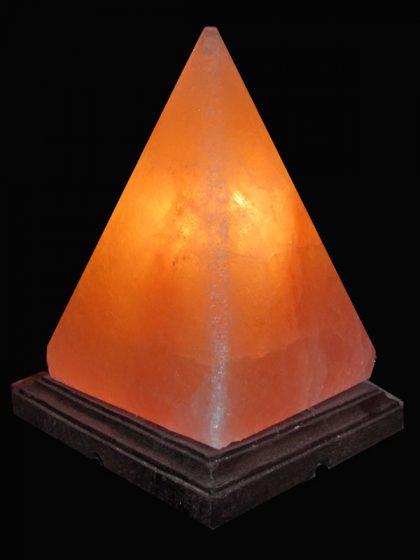 "Salzkristall Leuchte ""Pyramide"""