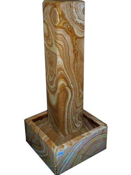 Sandstein Stelenbrunnen 100 cm