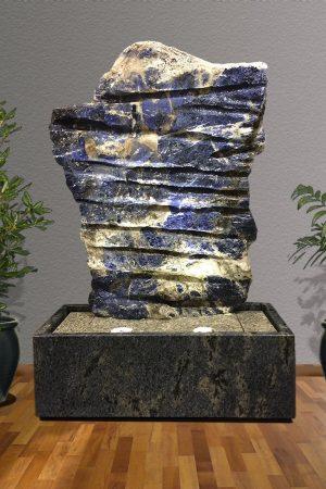 Sodalith Wasserwand Mato Grosso 140 cm