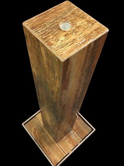 Stelenbrunnen Old-Wood 106 cm