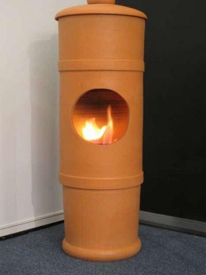 Bioethanol Kanonen-Ton-Ofen