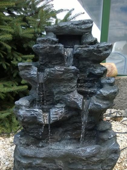 la Rocca Polyresin Wasserfall
