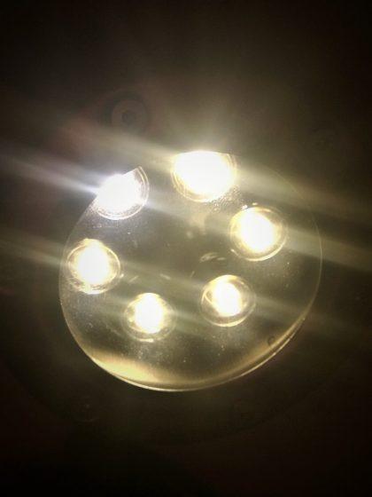LED Unterwasserscheinwerfer 6x1W, weiss