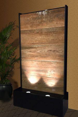 Wasserwand Wooden-Wall 123 cm