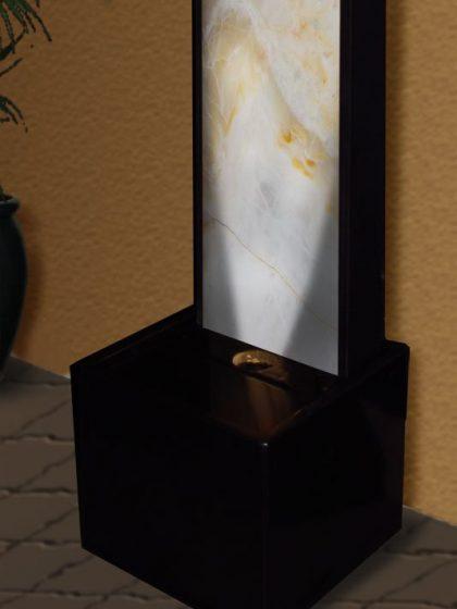 Wasserwand Aldea - White Onyx