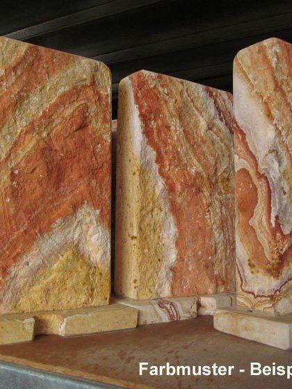 Sandstein Wasserwand Avanos Rocky