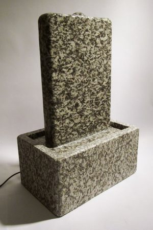 """Wasserwand """"Grey-Stile-Small"""" 43 cm"""