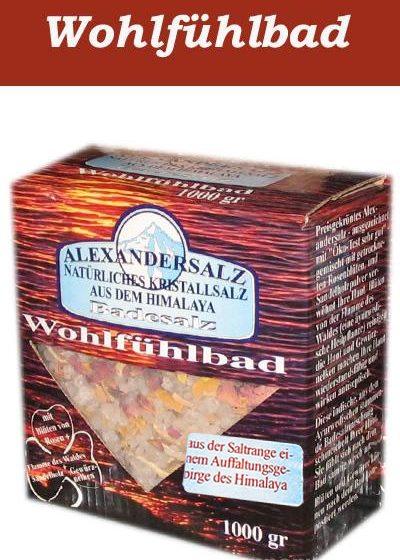Alexandersalz Wohlfühlbad