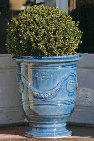 "Pflanzengefäß ""Anduze blu lavanda"" 45 cm"