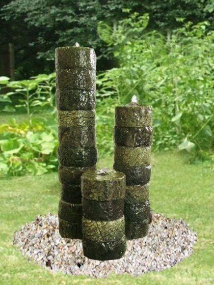 """Gartenbrunnen """"Babel"""""""