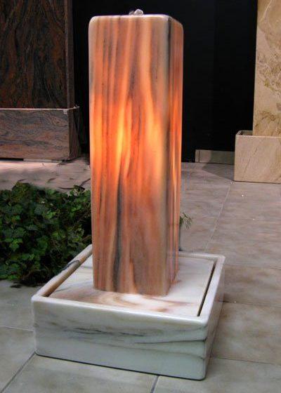 Lichtstele Sölker-Marmor Basic 76 cm