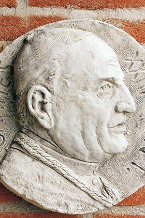 """Wandelement """"Bassorilievo Papa Giovanni XXIII"""" IP"""