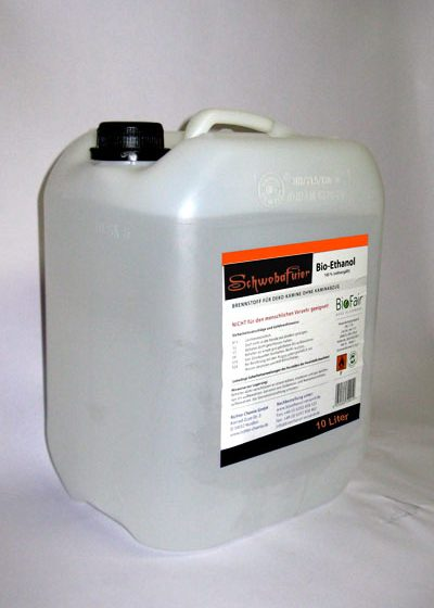 Bio-Ethanol PRIMA 96% im 10Liter-Kanister