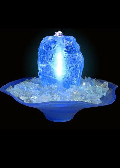 "Glasbrunnen ""Blue Night"""