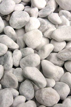 Zierkiesel Carrara-Marmor, 15-25mm