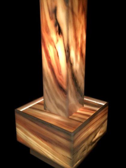 Delight-Lichtstele Sölker Marmor 90 cm
