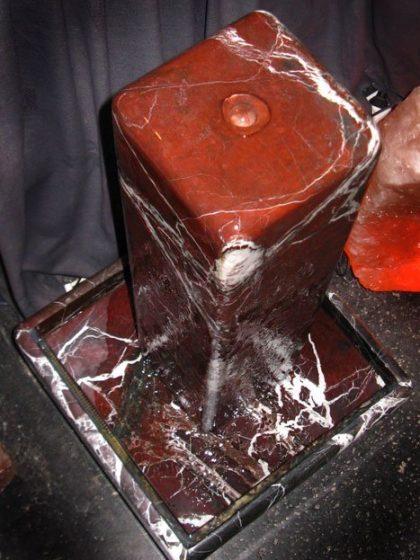 Stelenbrunnen Elazig Rot 84 cm