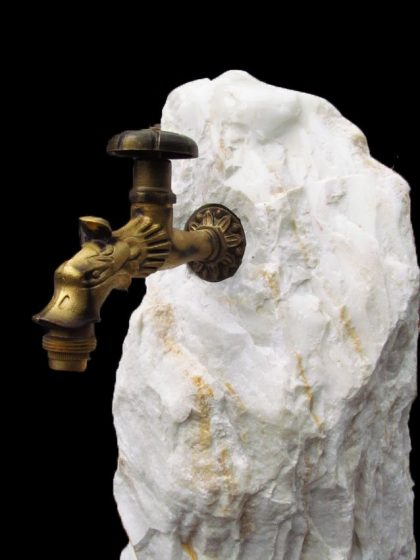 Trinkwasserbrunnen Ägäis-White