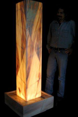 "Lichtstele ""Kolossal"" 177 cm"