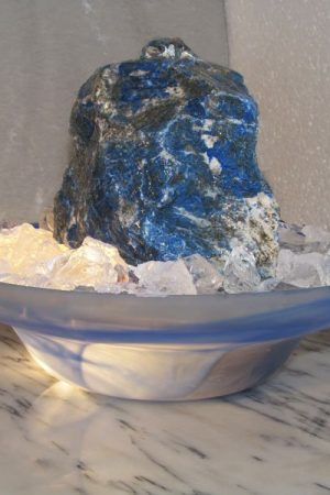 "Lapis Lazuli Brunnen ""Blue Note"""