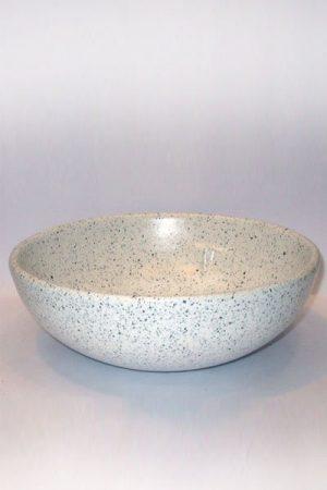 Steinzeugschale Mandala d:26 cm