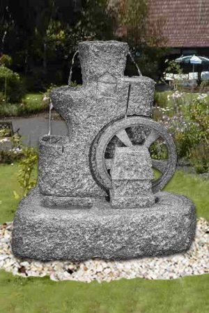 Granit-Mühlradbrunnen (Art.Nr.: 86263/K)
