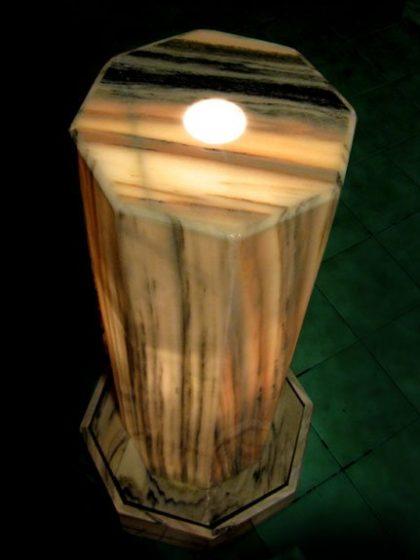 """Lichtbrunnen """"Oktogonia"""""""