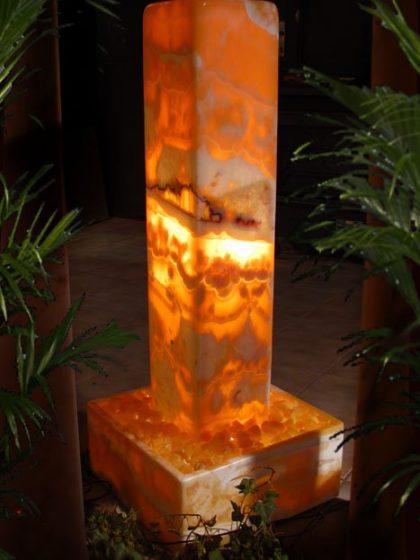Lichtstele Onyx Pharao 106 cm