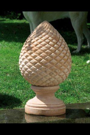 """Gartendekoration Pinienzapfen """"Pigna Terracotta Grande"""""""