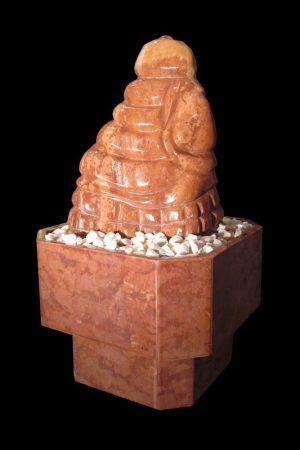 Skulptur Red-Aztek