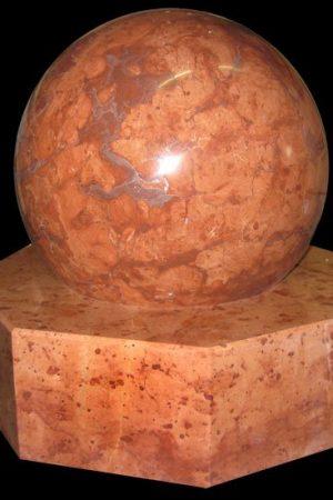 Marmor-Kugelbrunnen Tardos 30 cm