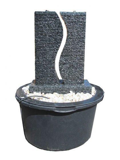 Granit-Gartenbrunnen S-Twin-small