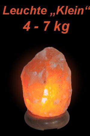 Salzkristall Leuchte Klein (4-7kg)