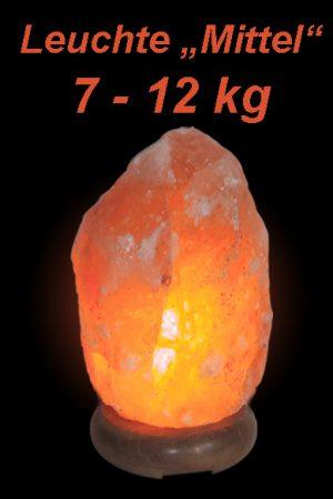 """Salzkristall Leuchte """"Mittel"""" (7-12kg)"""