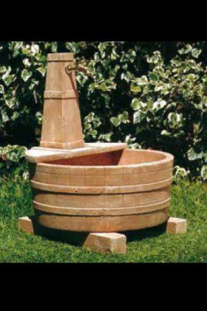 """Trogbrunnen """"San giovese con rubinetto"""""""