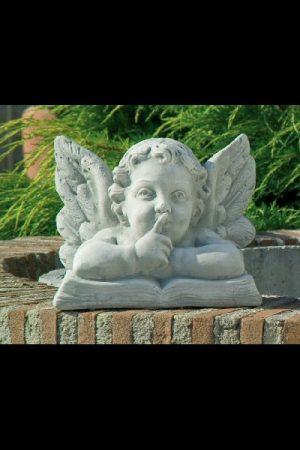 "Gartenfigur Engel ""Silenzio"""