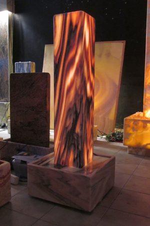 Lichtstele Sölker Marmor Deluxe